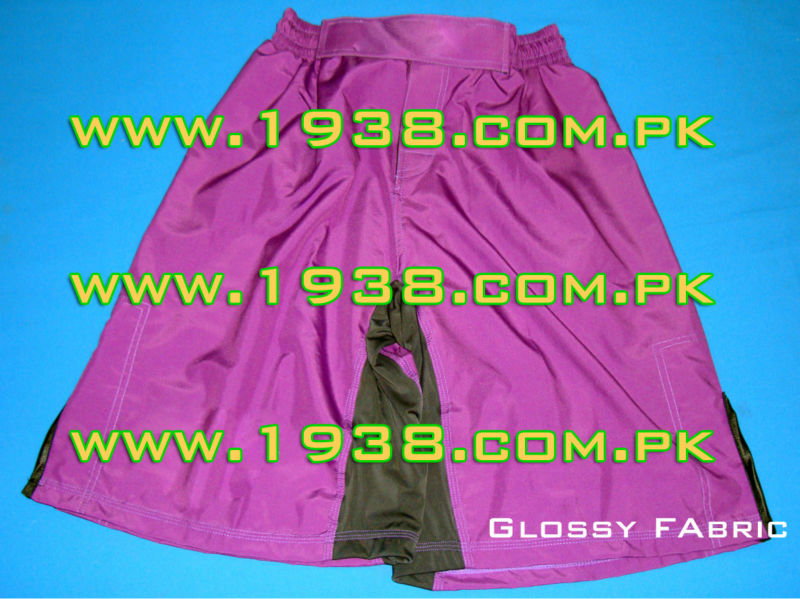 purple grappling shorts