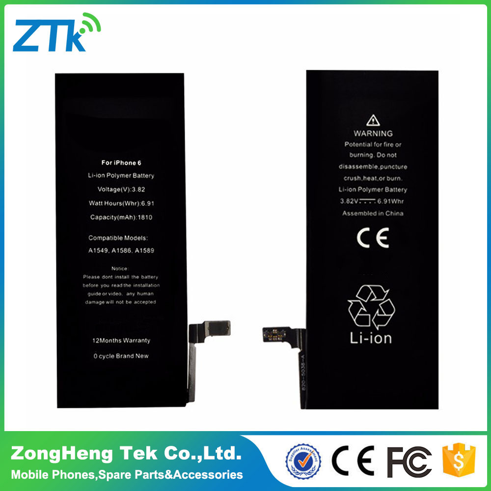 Factory Wholesale Top Quality For iphone battery 6s, Battery For iPhone 6s, For iPhone6s Battery