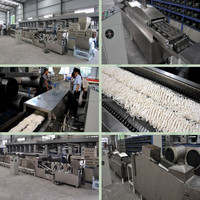 high capacity instant noodle making machine production line