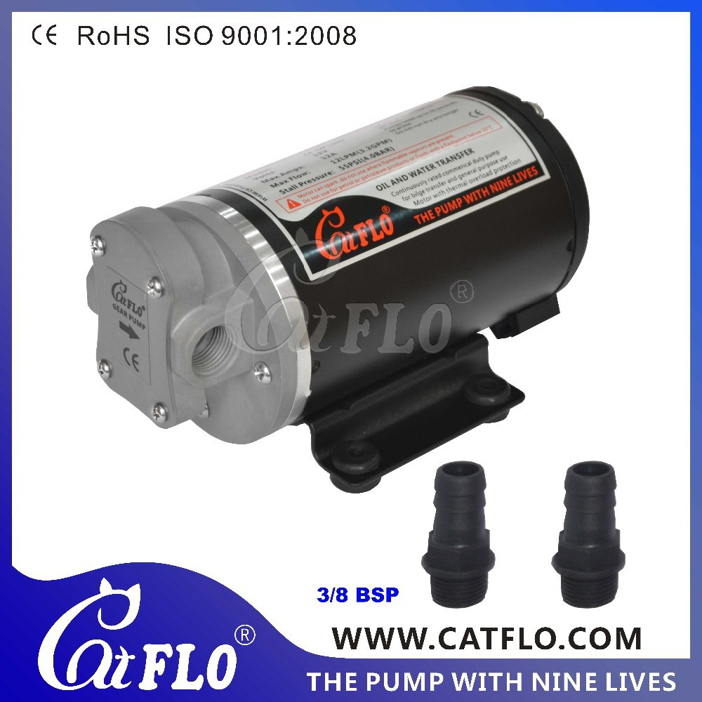 CATFLO 12LPM/3.2GPM Electric Oil Transfer Pump