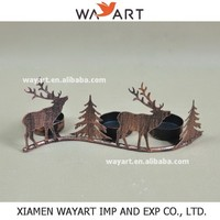 wholesale alibaba metal christmas tree candle holder For Home Decorations