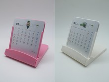 Wholesale custom Phone Holder plastic monthly calendar