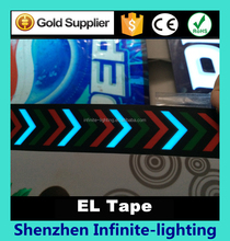 Flexible el backlight tape for party decoration