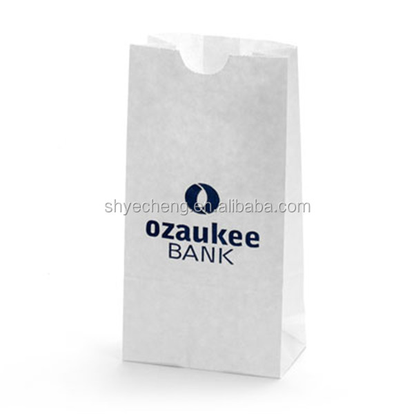 eco friendly printed cheap recycled kraft paper bag for food manufacturer