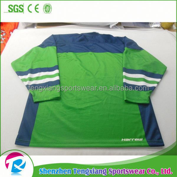 2017 Summer Best Selling Tackle Twill Ice Hockey Jerseys For Kids National Leagues