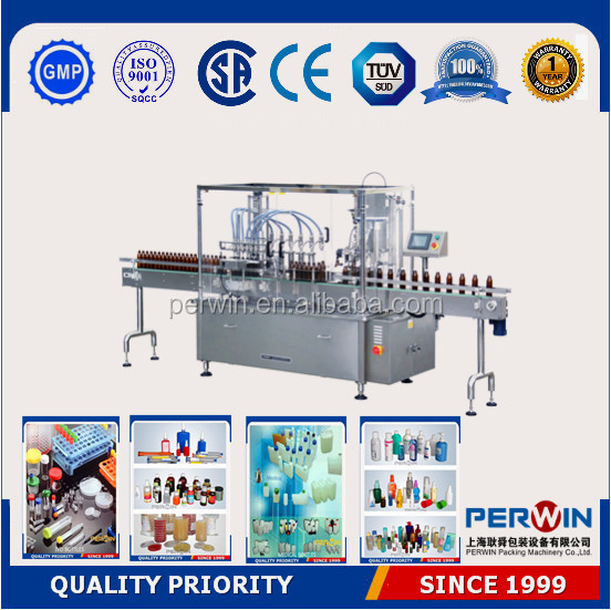 PERWIN-GFT High speed automatic alcohol filling machine,filling machine for alcohol