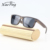 loq moq custom handmade big square frame ebony wood men sunglasses
