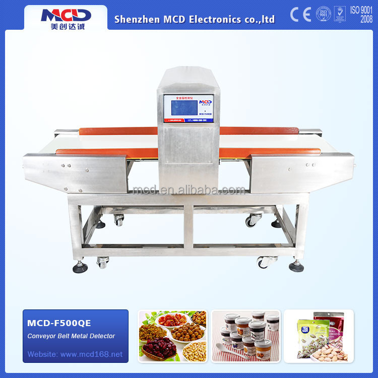 Metal Detector For Food for chemicals,rubber,plastics,textiles products MCD-F500QE