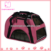 Soft sided comfort portable pet carrier