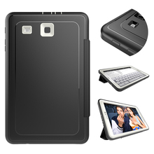 Top Quality 3 Folding Leather+TPU+PC Smart Cover for Samsung Tab E 9.6