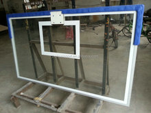 Aluminum Frame Toughened Glass Basketball Backboard