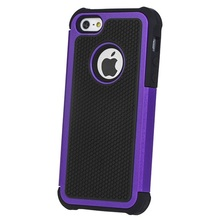 High Quality Plastic Silicone Combo Cover Case For iPhone 5 Hard Rugged Matte Case
