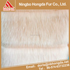 China goods wholesale Light orange jacquard shaggy fur fabric