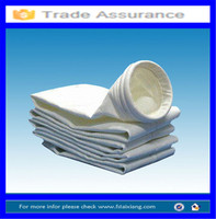 Water & Oil Proof nonwoven PTFE Strong Acid Alkali Resistant dust collector filter bag
