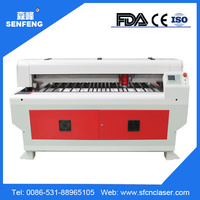 SF1325GL 130w laser power mixed cutting machine acrylic/metal thin sheet CO2 Reci brand