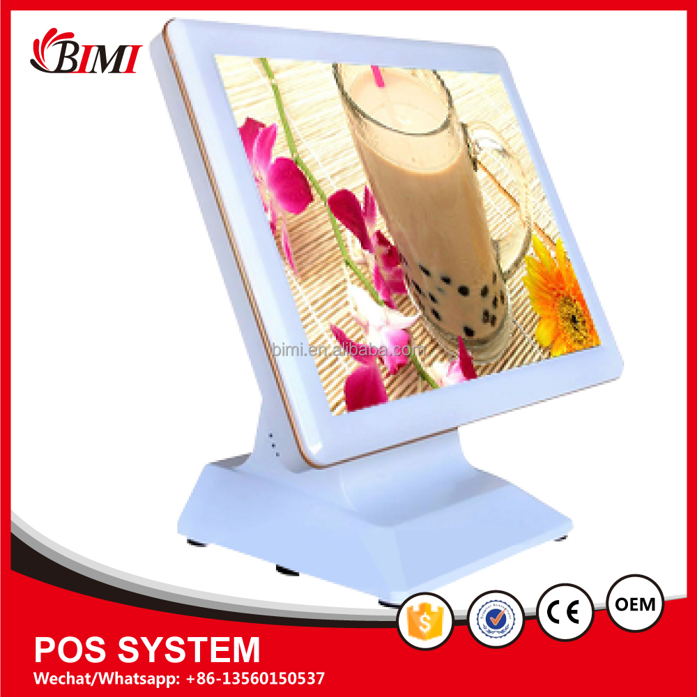 All in one touch screen pos from factory,15 inch pos touch screen