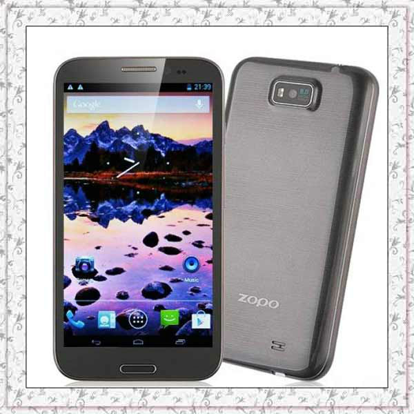 ZOPO ZP950 ZP950+ Phone Quad core MTk6589 Phone 5.7'' HD IPS 1280x720 1GB RAM 4GB/16G ROM WCDMA 3G Android 4.1 Dual SIM Wifi!