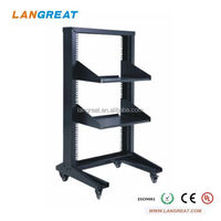 19 Inch network open rack/server rack outdoor equipment
