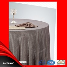 Hot Sale polyester satin table cover anti-slip table cloth