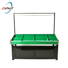 High Quality Wooden Fruit and Vegetables Display Stands