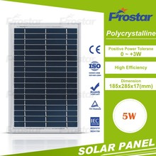 Prostar factory supply nice price polycrystalline 5w pv cell solar panel
