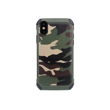 2017 New Release Ultra Slim Heavy Duty Dual Layer Camouflage Hybrid Armour Phone Cover for iPhone X case