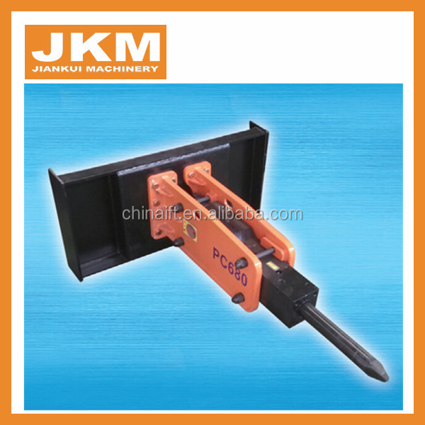 Infront skid steer loader tractor hydraulic rock breaker for sale