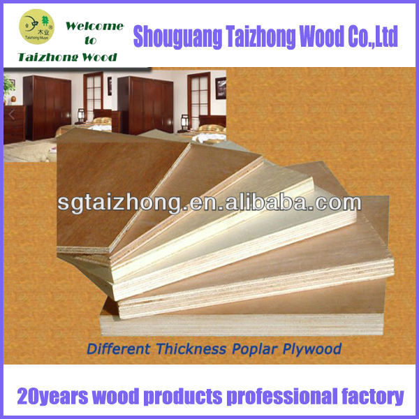 Best Price Poplar Used Plywood Sheet