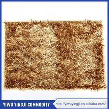 High end good quality home textile reasonable price chenille carpet