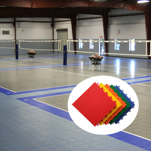 China manufacturer guaranteed quality volleyball indoor interlocking sports floorings