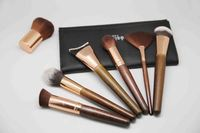 12pcs high quality real hair makeup brush for women