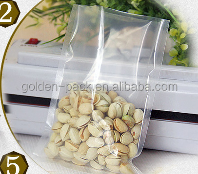 plastic snack food bag packaging design manufacturer/Transparent plastic bag for nuts,Grains, cereals, candy