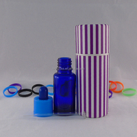 15ml pet dropper bottle essential oil plastic bottle with packaging tube