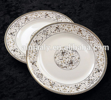 Porcelain Enameled White Porcelain Wholesale Dinner Plates For Kitchen Ware, Table Ware