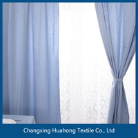 100% polyester wrap knitting curtain cloth