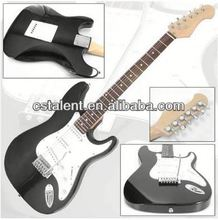 glass body electric guitar