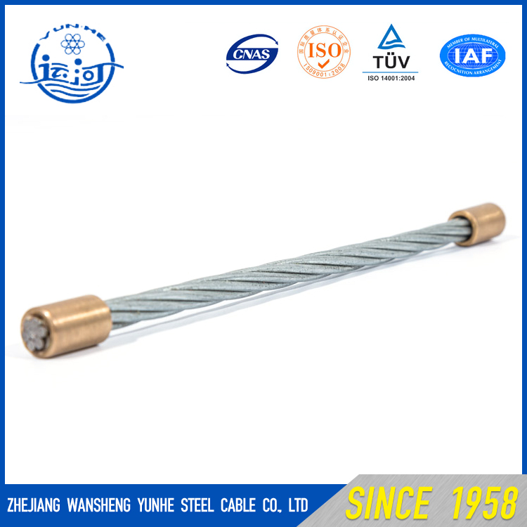 China Factory Wire Rod Hs Code Stainless 7x1.0mm Galvanized Steel Wire Strand