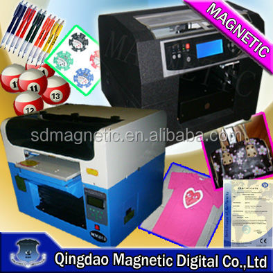 A2 A3 hot model digital black garment printing machine