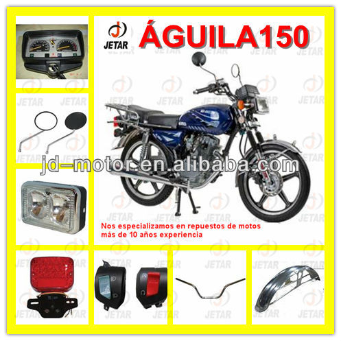 motorcycle spare parts for HAOJIN AGUILA