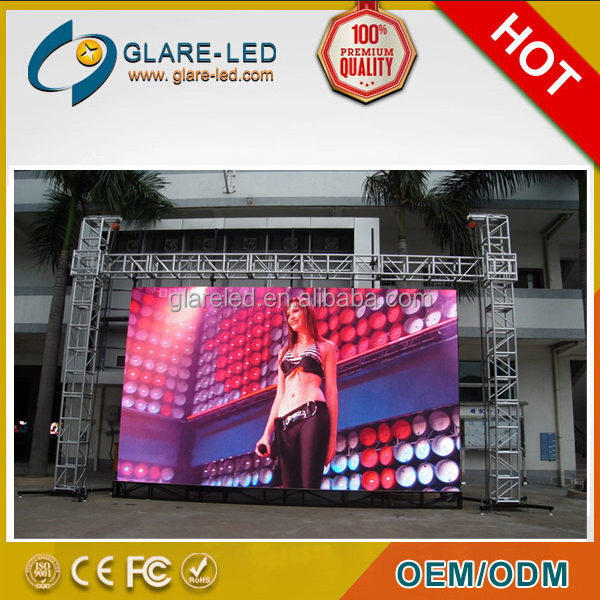 led rental screen Pitch 3.9 outdoor rental electronics led display