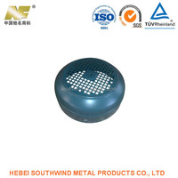 Customized Round Body Metal Stamping Electronics Enclosures or Shells Products Manufacturer