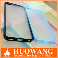 bi-color soft tpu bumper for ipod touch 5,for ipod touch 5 case