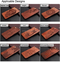 Hot sales High quality Plastic blank mobile cover for Apple 3D blu sublimation wood phone case for iPhone 6