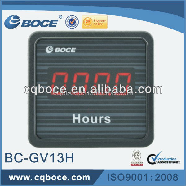 Digital Hour Meter GV13H Used for Accumulating Time
