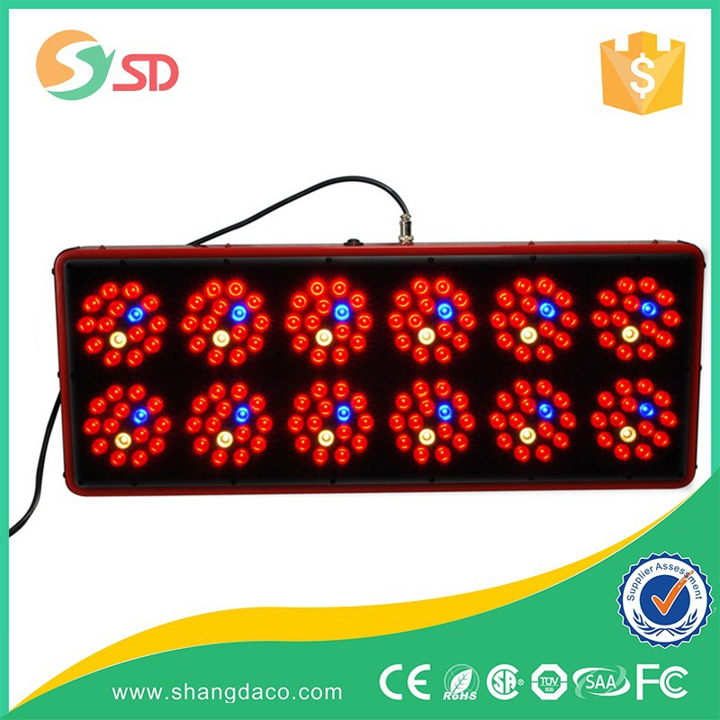 2016 promotion greenhouse hydroponics 430w led grow light