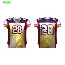 Drifit custom digital printing American football uniforms