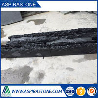 Supplier black slate culture stone floor tile