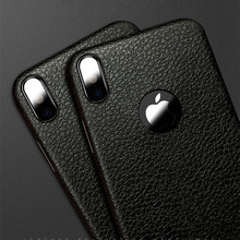 Latest Tpu Lagging Leather Phone Case For Iphone x