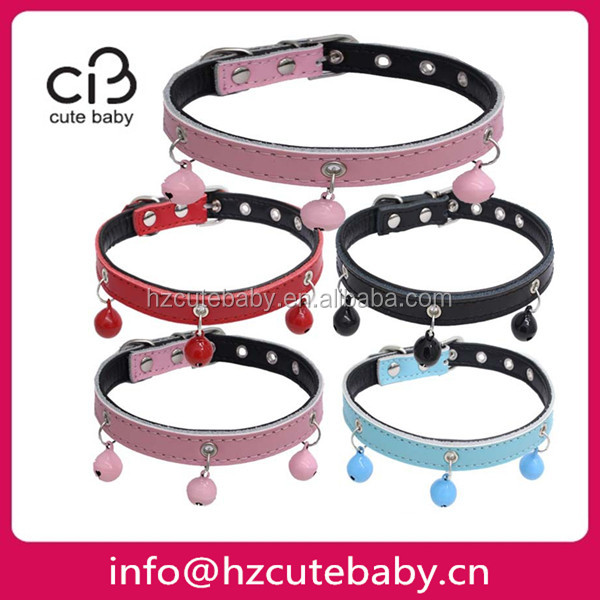 small size genuine leather pet collars pets dogs articles