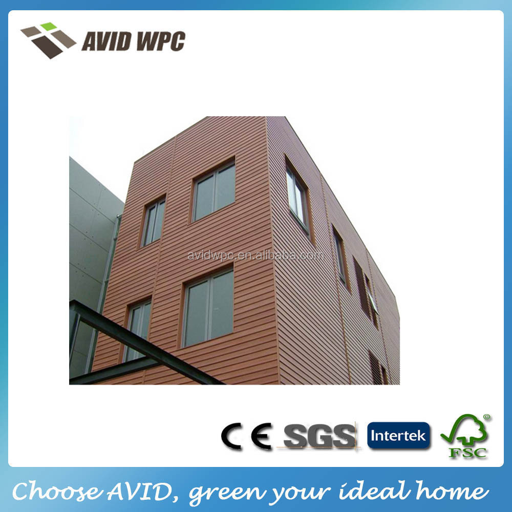 wood plastic composite wpc house wall panel decking board for sale